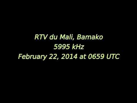 RTV du Mali (Bamako, Mali) - Music only + QRN - 5995 kHz