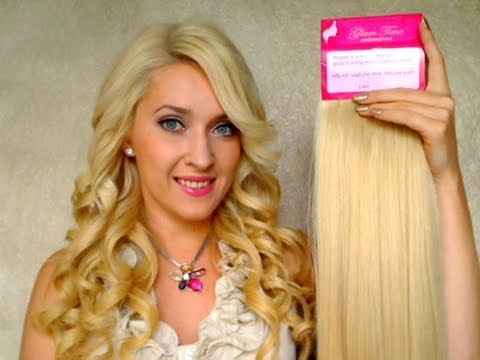 hair extensions for thin hair tutorial The best Remy human hair review