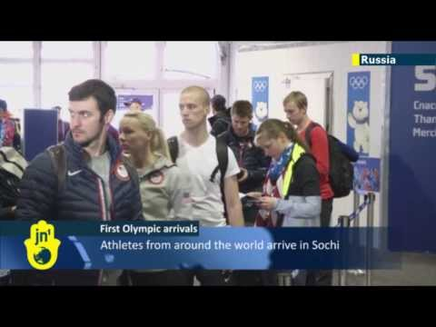 Sochi Olympics 2014: Athletes begin arriving amid increased security fears