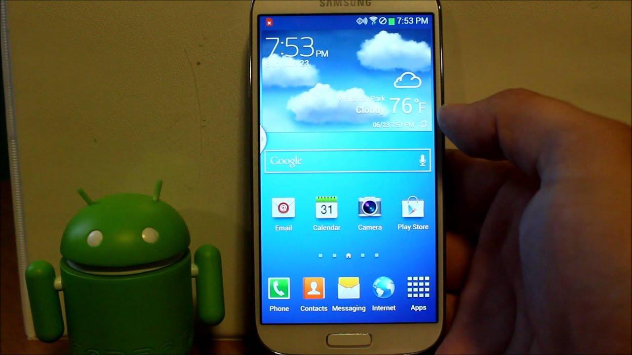 Samsung Galaxy S4 Icons