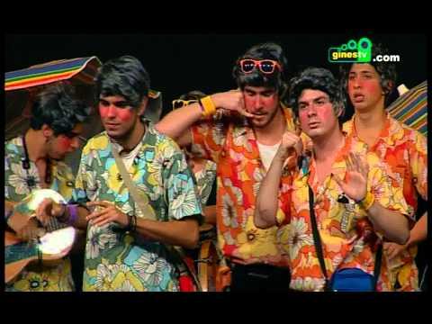 Los pulseras. Carnaval de Gines 2014 (Segunda semifinal)