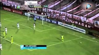 Huracán 2 - Mineros 2. Copa Libertadores 2015. .