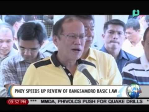 NewsLife: PNoy speeds up review of Bangsamoro Basic Law || June 27, 2014