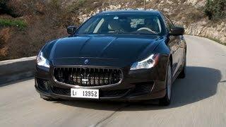 Maserati Quattroporte 2013 roadtest (English subtitled) videos