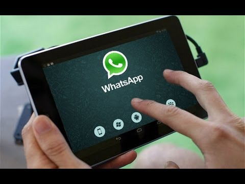 Whatsapp on Android Tablets