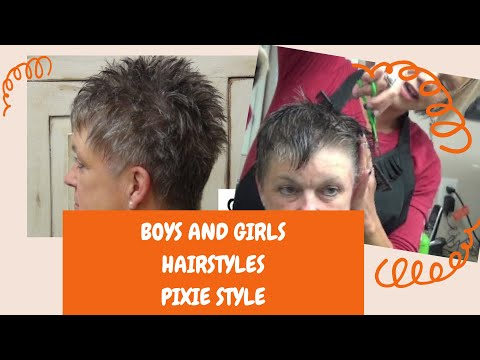 How To Cut Short and Cute Hair for Any Age Hairstyle Tutorial