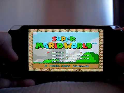 Emulador De Super Nintendo Para Psp
