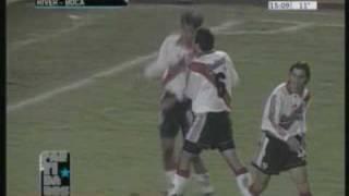 River 2 Boca 1 Libertadores 2000 (Relato Sebastian Vignolo