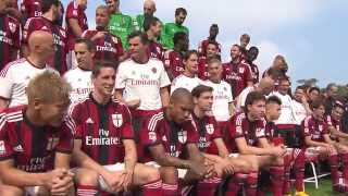 Official Team Photo Shoot 2014/15 | AC Milan Official