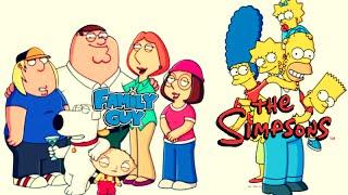 Os Simpsons E Uma Familia Da Pesada(Original) Legendado