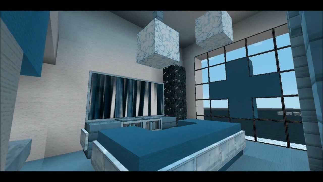 Minecraft 2 Modern Bedroom Designs - YouTube
