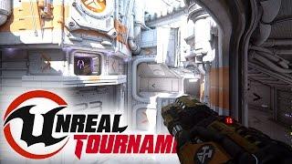 Unreal Tournament - Amazing New Graphics, Pre-Alpha Deathmatch