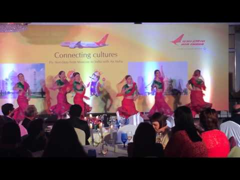 "akshaya  kathak- choregraphed-directed  ""DANCING MOODS"" FOR AIR INDIA CONCERT 18JULY 2014 MOSCOW"