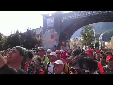 Start of UTMB, The North Face® Ultra-Trail du Mont-Blanc® 2013