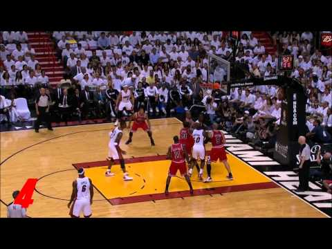 NBA Top 10 Playoffs Dunks: 2011 Chicago Bulls