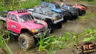 RC ADVENTURES 6 Scale RC 4x4 Trucks In MUD, DIRT & A