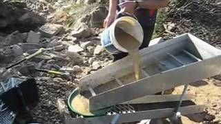 Gold Panning And High-banking At Shaolhaven River, NSW