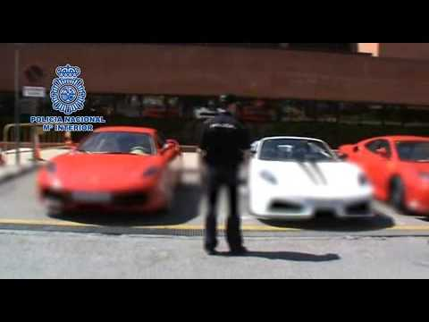 Ferrari replicas seized by Spanish police