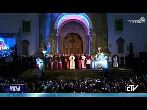 Papa Francesco in Ecuador - il racconto della seconda giornata