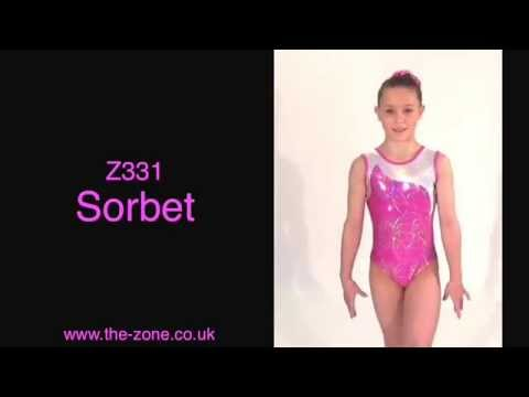 Sorbet Sleeveless Gymnastics Leotard