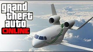 GTA 5 Online Secret Plane & Gun DLC Update? Rare Plane