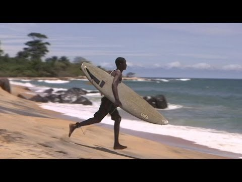 Tide turns for Liberia's secret surf spot