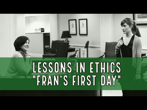 Lessons in Ethics #5: Fran and the Found File.