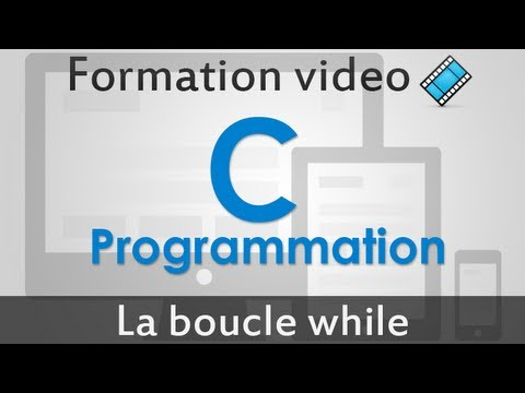 Programmation Langage C - Boucle while/tant que