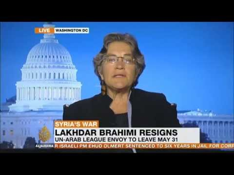 Phyllis Bennis on Syria and the resignation of Lakhdar Brahimi