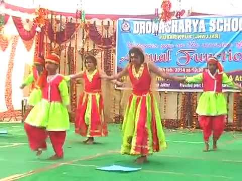 Annual Function Dronacharya Sr. Sec. School Mubarikpur Jhajjar 2014 PArt II