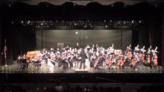 Candide Overture, Bernstein.  Arlington HS Philharmonia