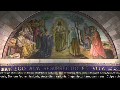 """Dies Irae"" (Sequence, Gregorian): sung by FSI. A Day With Mary"