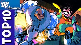 Top 10 Robin and Cyborg Moments From Teen Titans
