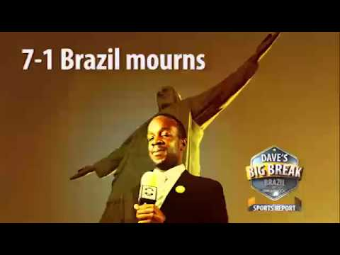 Dave in Brazil's five stages of mourning - A radio report