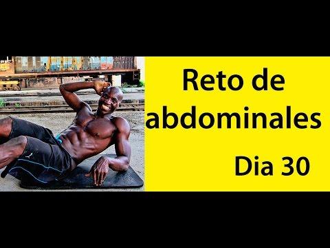 ABDOMINALES EN 30 DIAS ( RETO DIA 30)