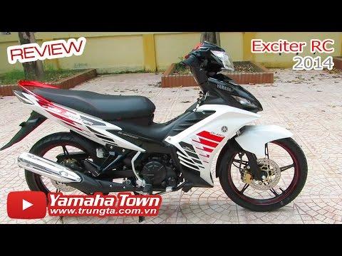 Yamaha Exciter RC 2014 - Review phiên bản màu Trắng đen đỏ ✔