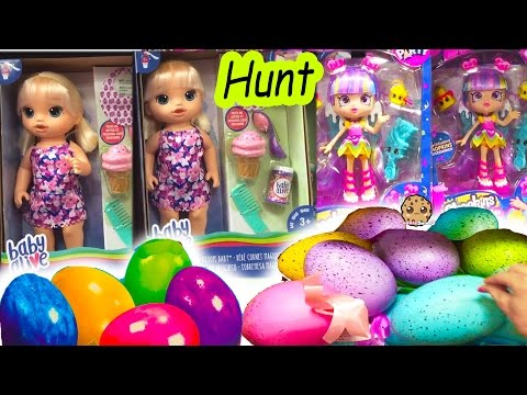 Toy Hunt Video - My Life As Dolls, Easter Eggs, Plushies, Shopkins + More
