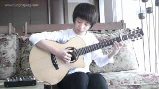 (Yiruma) Kiss The Rain - Sungha Jung