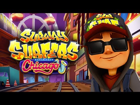 SUBWAY SURFERS GAMEPLAY PC HD 2020 - CHICAGO - JAKE DARK OUTFIT SPACESHIP BOARD