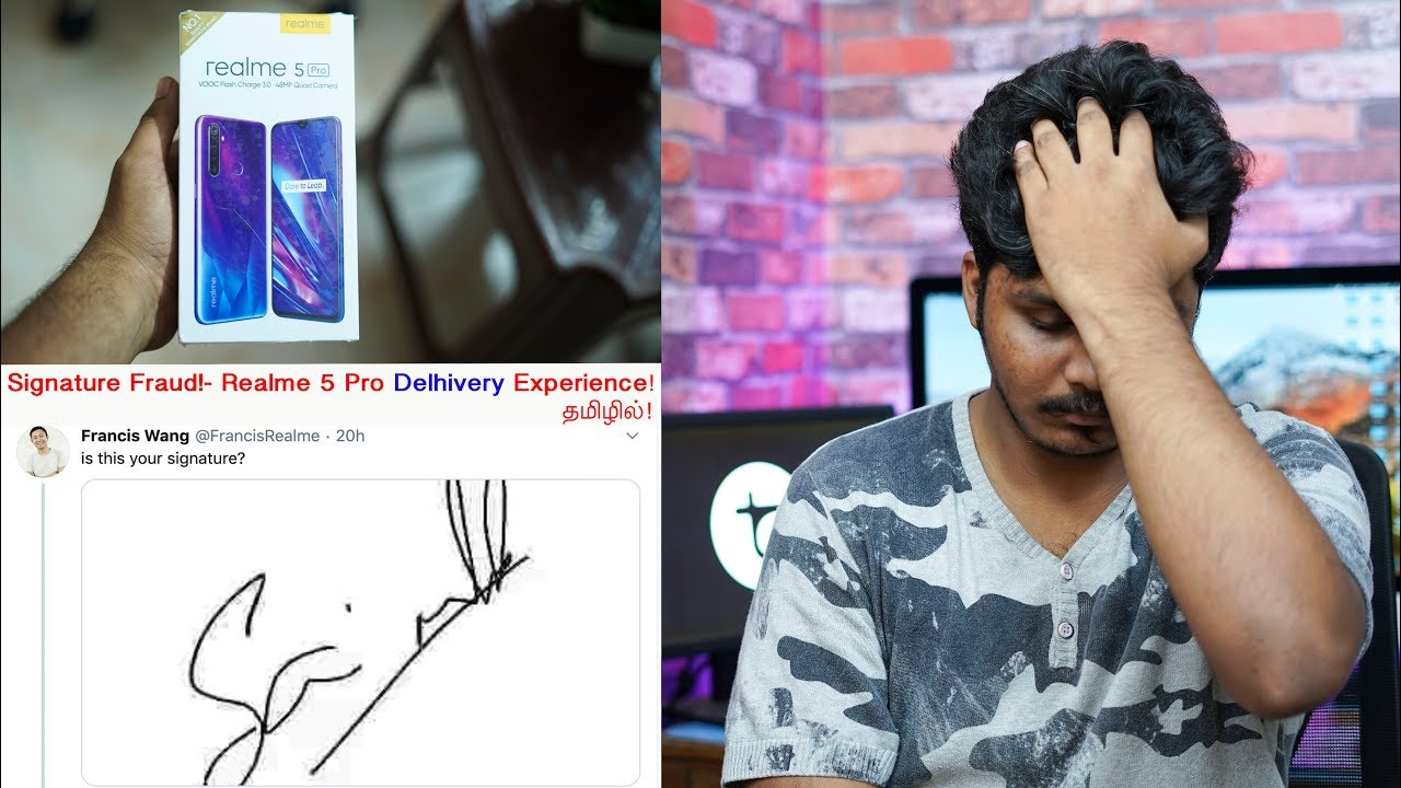 Signature Fraud! - My Realme 5 Pro Worst Delhivery Experience in Tamil!