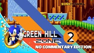 Sonic Mania - Green Hill Zone Act 2 Játékmenet