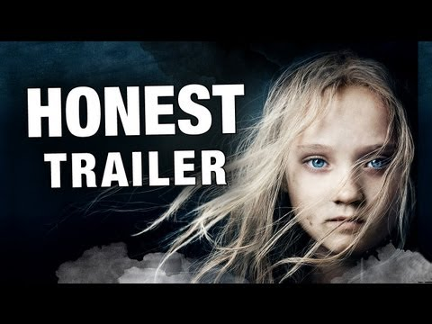 Honest Trailers - Les Miserables, In honor of the movie musical Les Miserables - we decided to make a Musical Honest Trailer. Trust us, it sounds way better than Russell Crowe. We'll be uploa...