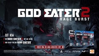 GOD EATER 2 Rage Burst - Launch Trailer