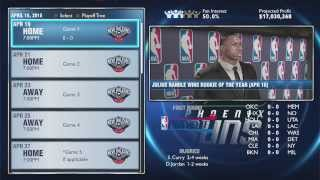 NBA 2K14 PS4 My GM Ep. 17 - Vote On Playoff Upload Schedule!