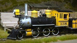 USA Modelleisenbahn bzw. Schmalspur Modulanlage in Spur 0 aus dem Wilden Westen