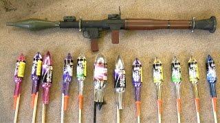 Making a Firework Rocket Launcher
