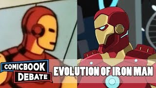Evolution of Iron Man in Cartoons in 18 Minutes (2018)