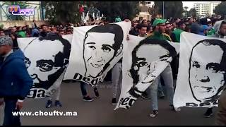 طالعين فوق الشجر باش يمشي حسبان من الرجاء..لقطات من وقفة الجماهير الرجاوية ضد الرئيس  