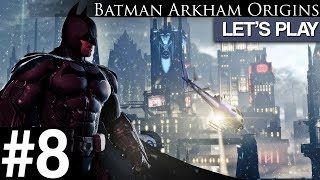"Batman: Arkham Origins #8 Let's Play ""Enigmas HQ"" PC"