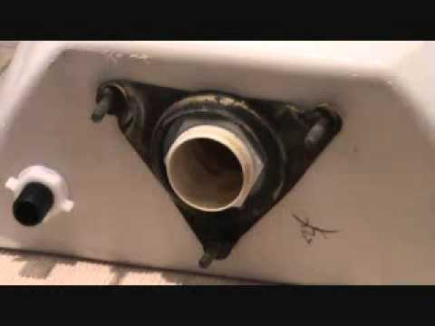 The Toilet From Hell Removing A Leaking Toilet Tank